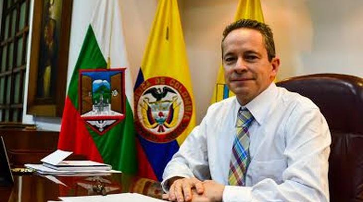 RICARDO GÓMEZ GIRALDO GOBERNADOR DE CALDAS, INVITA AL XII CONGRESO IBEROAMERICANO DE MUNICIPALISTAS